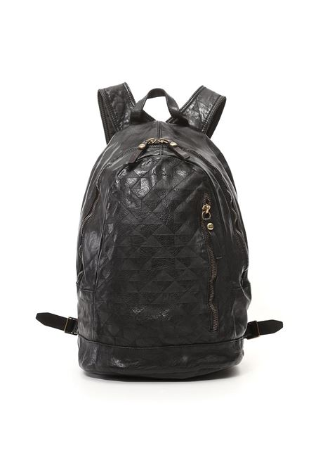 Campomaggi Lauro black geometric backpack CAMPOMAGGI | Bags | C021530NDC0001