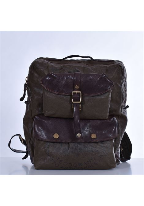 Campomaggi Teodorano canvas backpack CAMPOMAGGI | Bags | C025330NDF1505