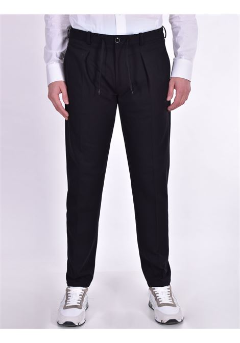 Circolo 1901 coulise piquet trousers black CIRCOLO 1901 | Trousers | CN2973SB001