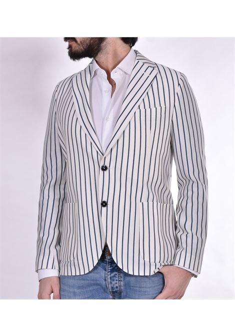Circolo 1901 blue white pinstripe blazer CIRCOLO 1901 | Blazers | CN3098000M