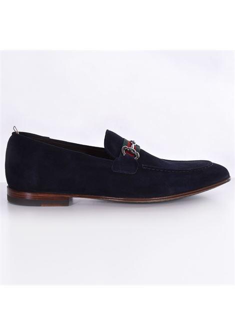 Claudio Marini blue suede loafers CLAUDIO MARINI | Shoes | 82541