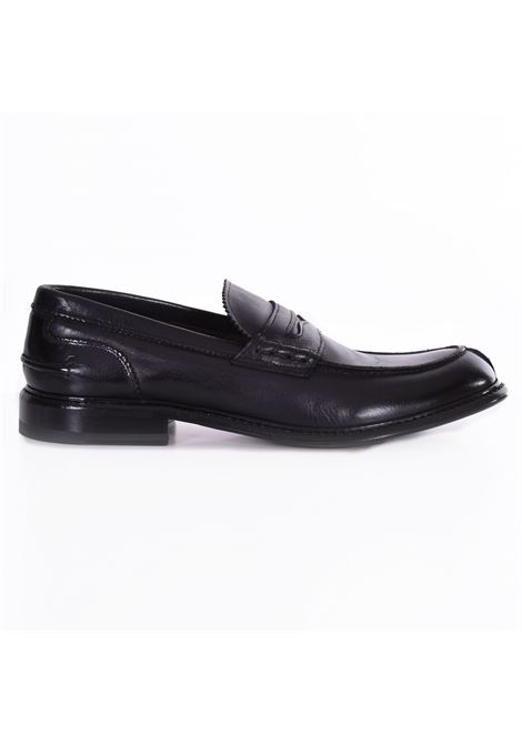 Claudio Marini black leather loafers CLAUDIO MARINI | Shoes | 8741