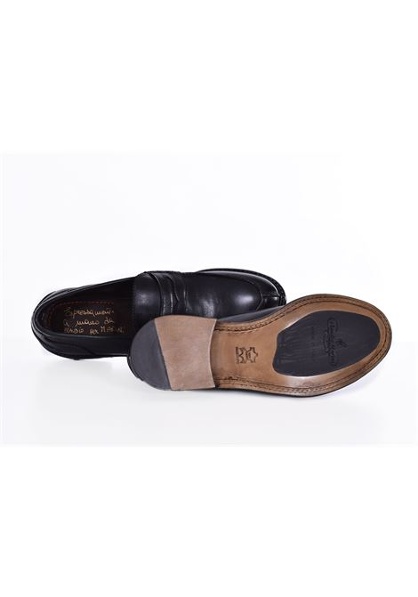 Claudio Marini black leather loafers CLAUDIO MARINI | 8741