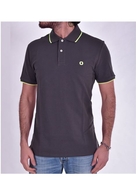 Ecoalf gray polo shirt ECOALF | polo | 3660299
