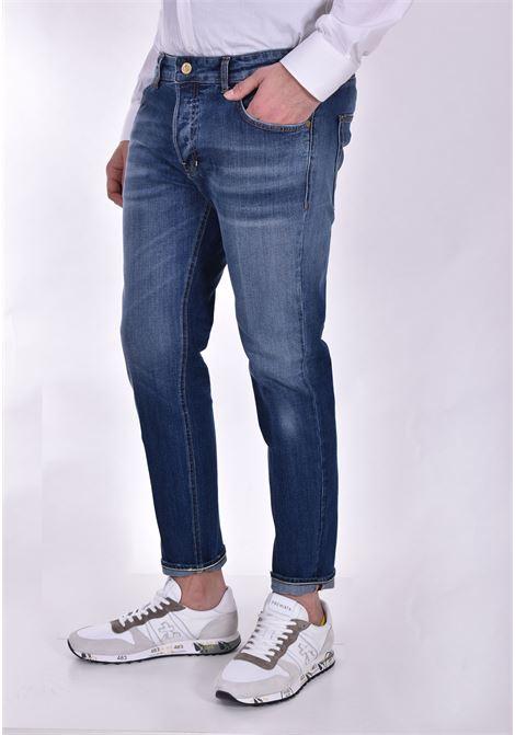Jeans Entre Amis Napoli corto blu ENTRE AMIS | P21GAGA1933L8781