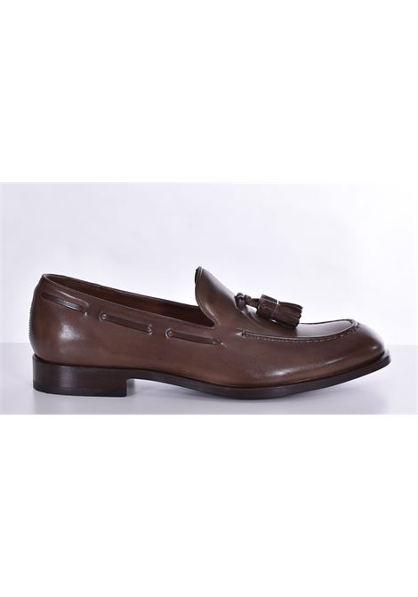 Fratelli Rossetti estroil antique dark rope loafers FRATELLI ROSSETTI | Shoes | 127451