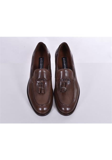 Fratelli Rossetti estroil antique dark rope loafers FRATELLI ROSSETTI | Shoes | 127451