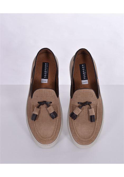 Fratelli Rossetti york gasa beige loafers FRATELLI ROSSETTI | Shoes | 4656565535
