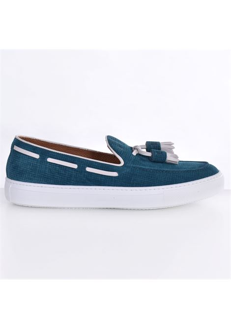 Fratelli Rossetti york moccasins in blue jade gas FRATELLI ROSSETTI | Shoes | 4656565541