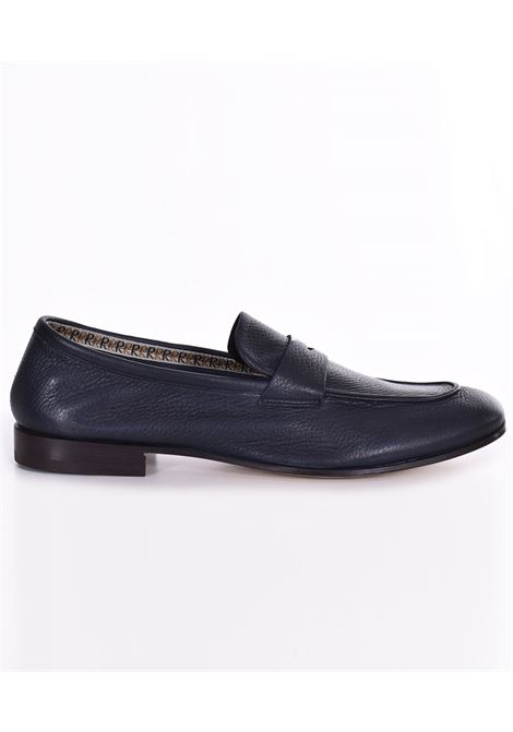 Fratelli Rossetti Ottawa navy blue loafers FRATELLI ROSSETTI | Shoes | 518701
