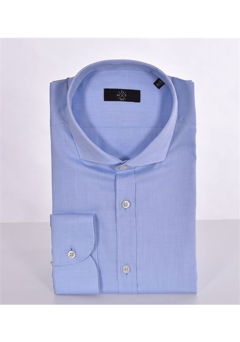 GMF 965 light blue micro-pattern shirt GMF 965 | Shirts | 10704