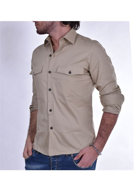 GMF 965 beige jeans shirt GMF 965 | Shirts | 12203