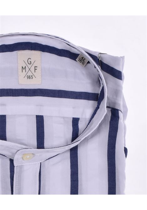 Camicia GMF 965 coreana bianco blu GMF 965 | 22302