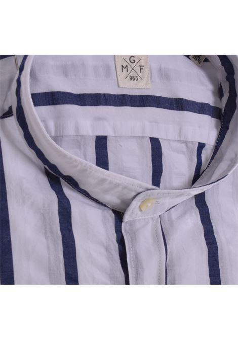 White blue Korean GMF 965 shirt GMF 965   Shirts   22302