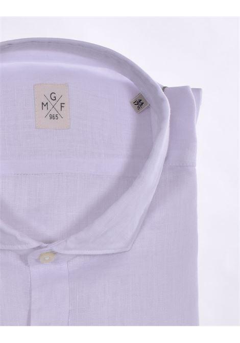 Camicia GMF 965 lino bianco GMF 965 | 30001
