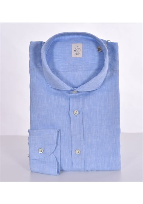 GMF 965 light blue linen shirt GMF 965 | Shirts | 30002