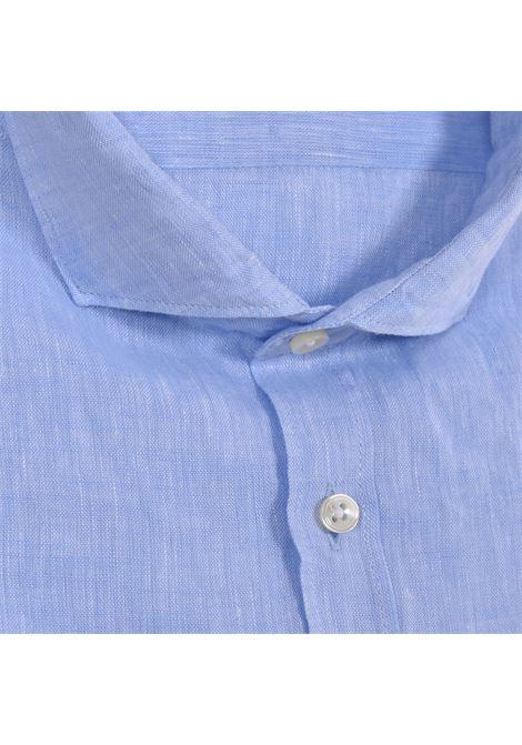 GMF 965 light blue linen shirt GMF 965   30002