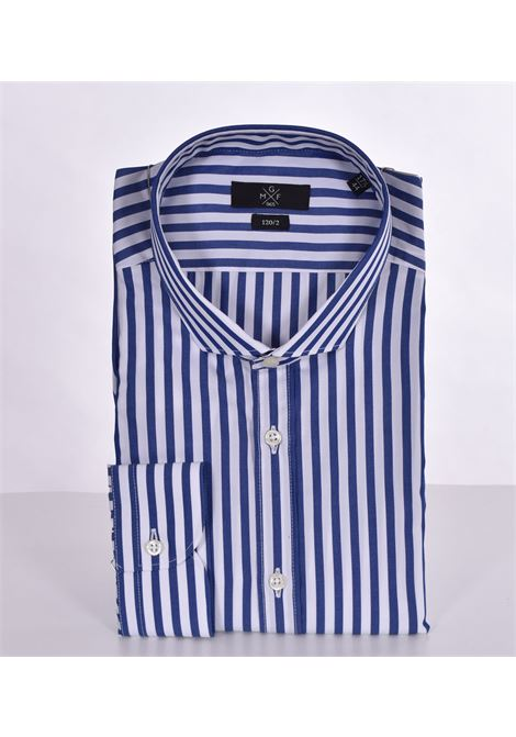 GMF 965 blue striped shirt GMF 965 | Shirts | 90704