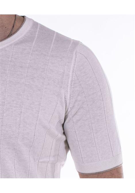 T-shirt Gran Sasso seta bianca GRAN SASSO | T-shirt | 4311623510005
