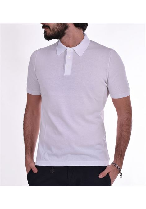 Polo fresh cotton Gran Sasso Basic white GRAN SASSO | polo | 4315620731002