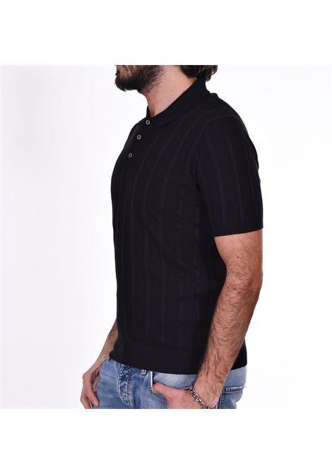 Polo Gran Sasso seta nero GRAN SASSO | 4318523511099