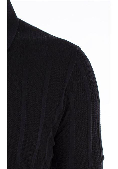 Gran Sasso black silk polo shirt GRAN SASSO   polo   4318523511099