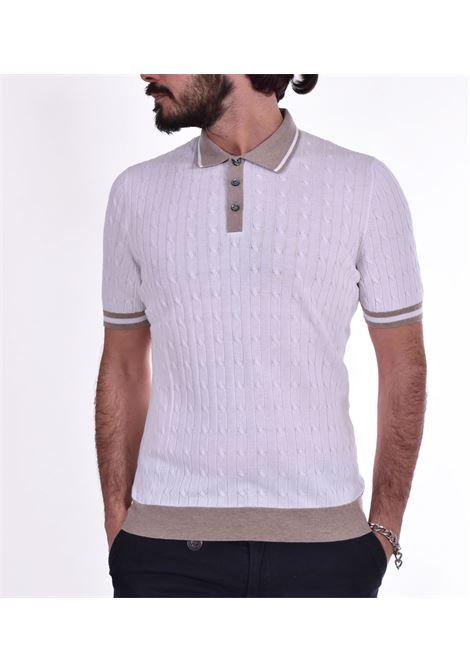 Polo Gran Sasso fresh cotton braids GRAN SASSO |  | 5711320640002