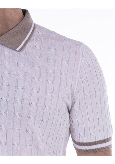 Polo Gran Sasso fresh cotton trecce GRAN SASSO | Polo | 5711320640002