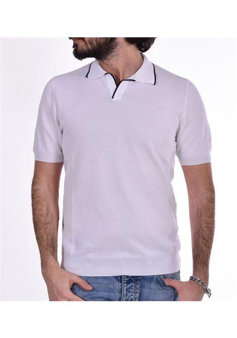Polo Gran Sasso fresh cotton bianco GRAN SASSO | Polo | 5715720642002