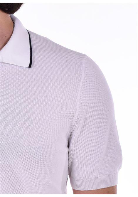 Polo Gran Sasso fresh cotton bianco GRAN SASSO | 5715720642002