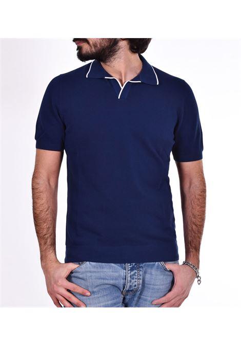 Polo Gran Sasso fresh cotton blu GRAN SASSO | Polo | 5715720642578