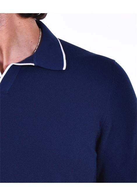 Polo Gran Sasso fresh cotton blue GRAN SASSO | polo | 5715720642578