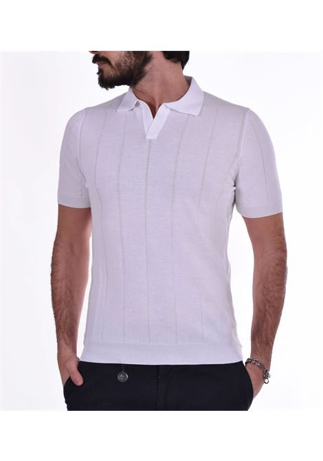 Polo Gran Sasso fresh cotton tennis bianca GRAN SASSO | Polo | 5719120660002