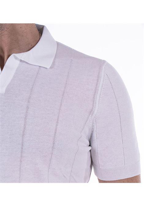 Gran Sasso fresh cotton tennis white polo shirt GRAN SASSO | polo | 5719120660002