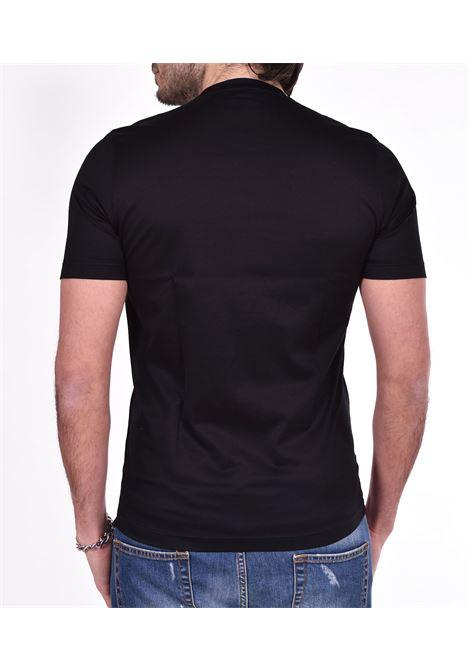 T-shirt Gran Sasso nera lucida GRAN SASSO | 6013374001099