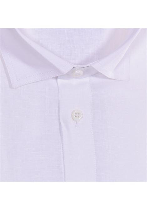 Gran Sasso white linen shirt GRAN SASSO | Shirts | 6112150000001