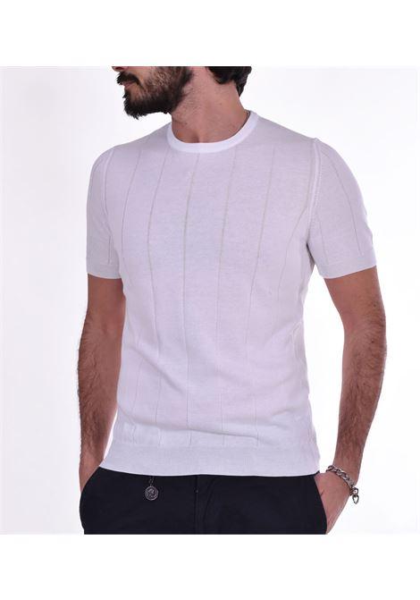 T shirt Gran Sasso paricollo bianco GRAN SASSO | T-shirt | 8718620660002