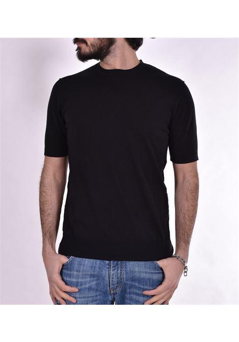 Black Hosio jersey t-shirt HOSIO | T-shirts | 100M0301