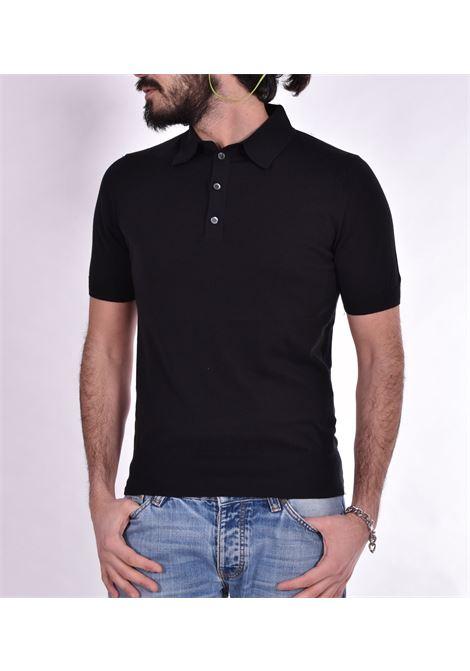 Polo Hosio maglia nera HOSIO | Polo | 100M1101