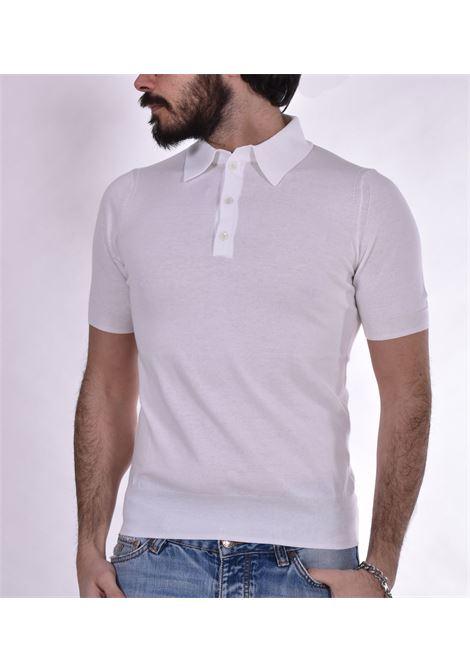 Polo Hosio white jersey HOSIO | polo | 100M1108