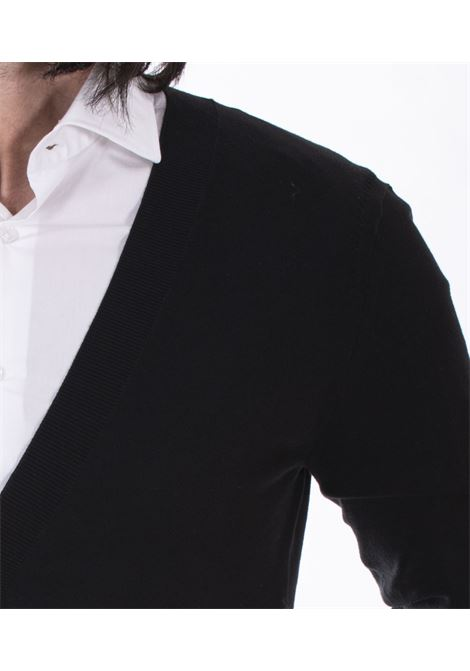 Cardigan Hosio cotone estivo nero HOSIO   Cardigan   21100M08G01