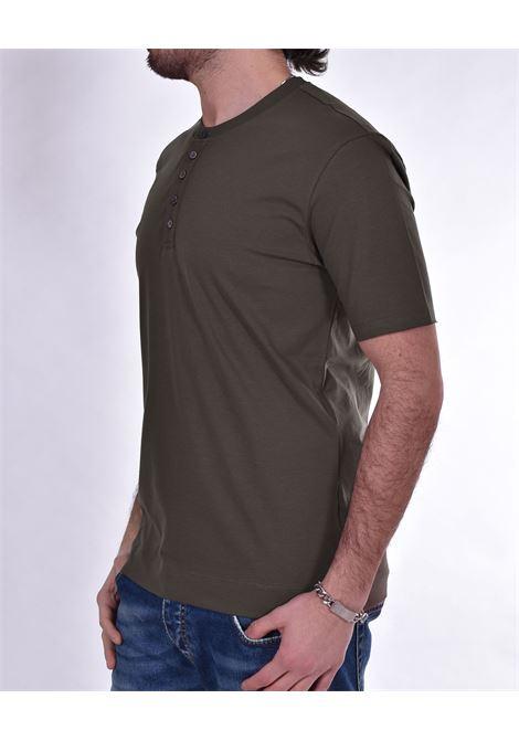 Hosio seraph t shirt green buttons HOSIO | T-shirts | 2120746