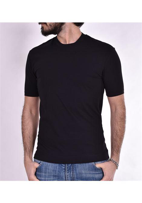 Hosio black wolf t-shirt HOSIO | T-shirts | 21207J6101