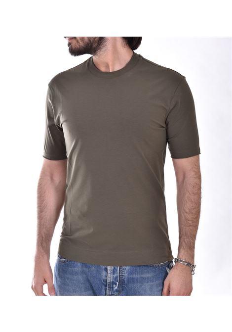 Hosio green wolf t-shirt HOSIO | T-shirts | 21207J6146