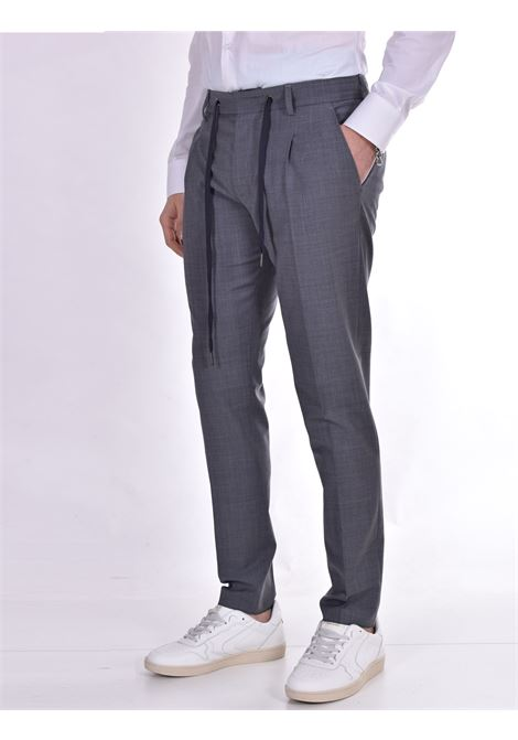 Hosio pleats gray trousers HOSIO | Trousers | 21403P2014