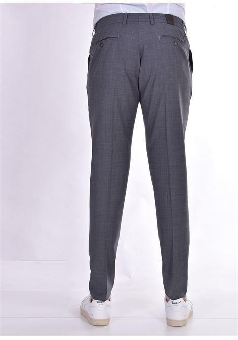 Hosio pleats gray trousers HOSIO | Trousers | 21403P2014