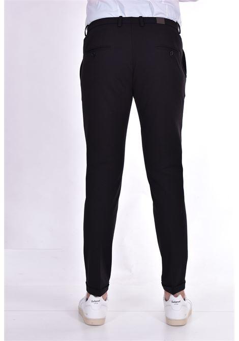 Pantalone Hosio slim fit nero HOSIO | Pantaloni | 21409P101R01