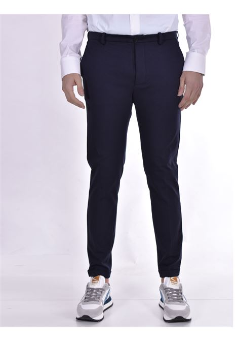 Blue slim fit Hosio trousers HOSIO | Trousers | 21409P101R40