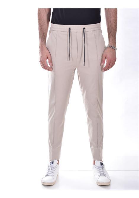 Hosio sand drawstring jogging trousers HOSIO | Trousers | 21409P8004