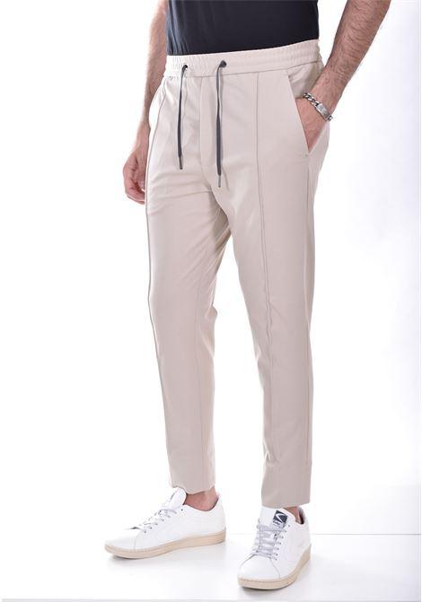 Hosio sand drawstring jogging trousers HOSIO | 21409P8004